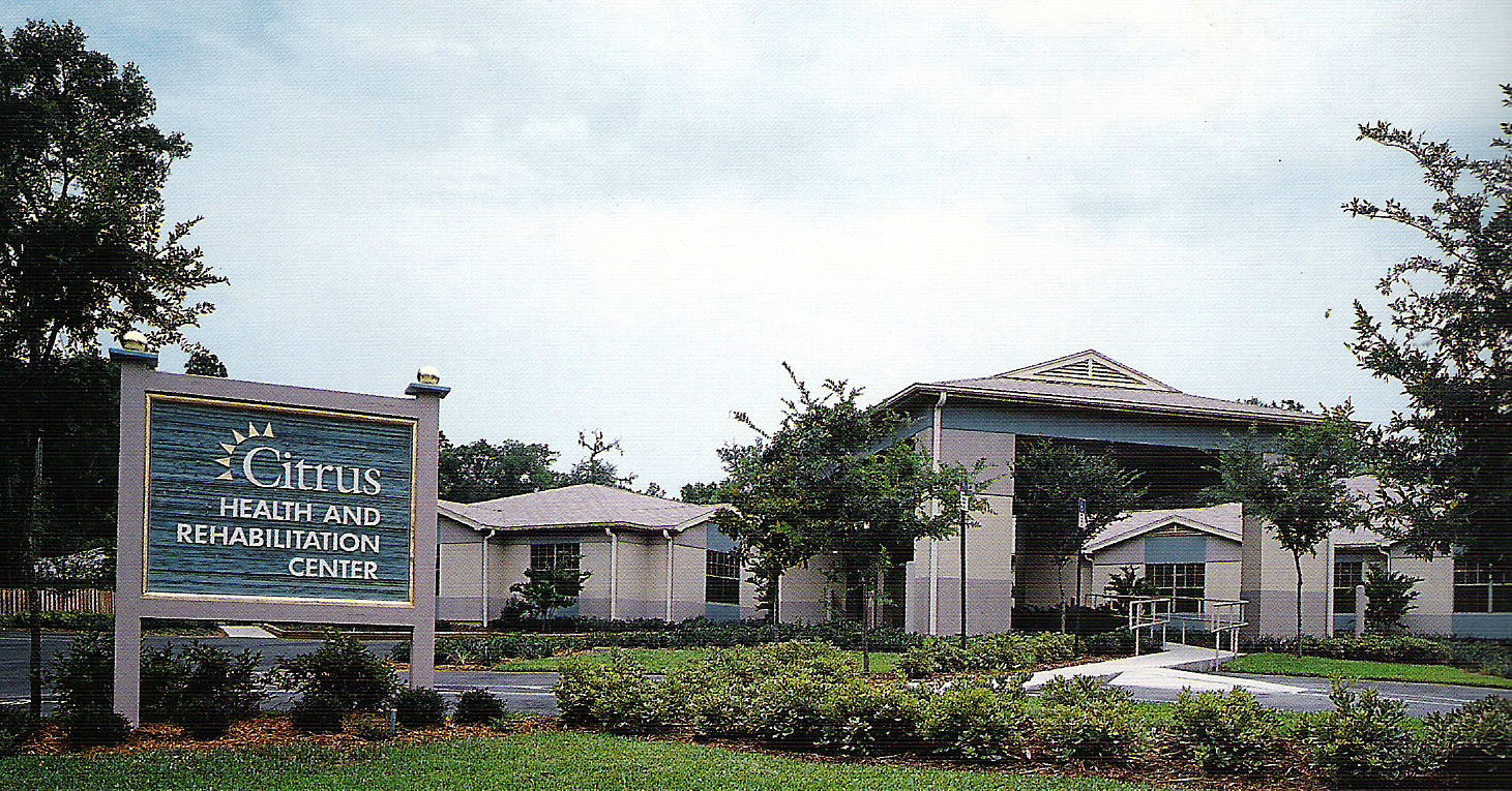Citrus health and rehabilitation centre, Florida, USA